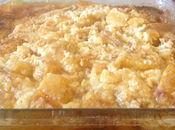 Cinnamon Sugar Peach Cobbler