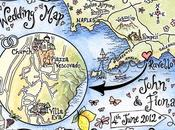 Hand Drawn Maps Your Wedding Perfect Personalised Keepsake
