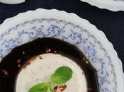 Celebrating 100th Post Blog CHILI VANILLA YOGURT PANNACOTTA CHOCOLATE SAUCE