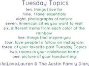 Tuesday Topics: Seven American Cities