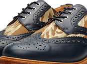 Brogue Speaks Even When Silent: Mark McNairy Leather Sole Two-Tone Camo