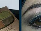 Forest Green Eyeshadow with Milani Quad Earthly Delights: Makeup Look