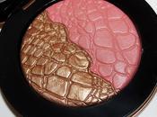 Sonia Kashuk GLISTEN Chic Luminosity Bronzer/Blush Swatches Review