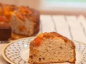 Apricot Rose Ricotta Cake