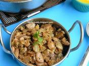 Butter Beans Curry with Coconut Poriyal