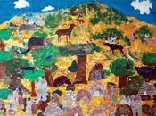 Mural Class Project: Miwok Village Life