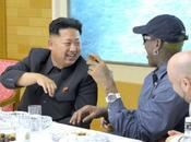 Jong Meets Watches Basketball Game with Dennis Rodman