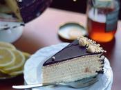 Luscious Honey Chocolate Layered Cake Ароматный Медовик Шоколаде