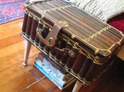 DIY: Vintage Suitcase Turned into Foot Table