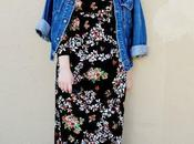 Look Day: Orchid Maxi Dress Vintage Denim