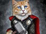 Adorable Cats Poses Avengers