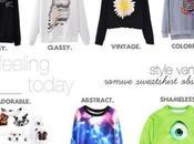 Obsession: Romwe Sweatshirts
