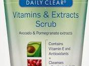Clearasil Daily Clear Vitamins Extracts Scrub