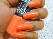NOTD Maybelline Color Show Nail Polish Tangerine Treat (406)