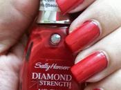 Review Sally Hansen Diamond Strength Chip Nail Color Diamonds Rubies, NOTD