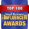 Congratulations Marlow, Small Business Influencer 2013!