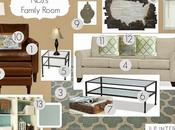 E-Design: NDJ's Family Room Design