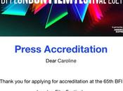 London Film Festival 2021 Press Accreditation