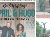 April Hugo's Wedding Underneath Bethesda Terrace