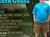 First School: Sixth Grade!
