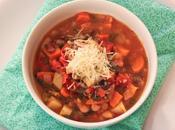 Hearty, Healthy, Winter Minestrone Soup