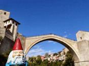 Felix Roaming Gnome Mostar, Bosnia Herzegovina