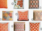 Orange Overload Throw Pillows