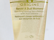 Review: Origins Never Dull Moment Cleanser