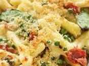 Macaroni Gratin with Peas
