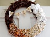 Easy Fall Ombre Wreath Tutorial