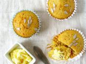 Healthy Sweet Polenta Little Cakes with Sunflower Seeds
