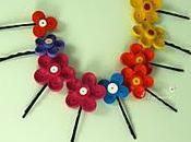 Feature Friday Paper Quilling Hair Pins from Etsy Shop
