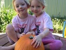 Making Pumpkin Jack-o'-Lantern