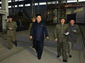 Jong Visits Shipyard Navy Cemetery