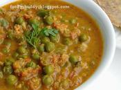 Green Peas Kurma Recipe Pattani Side Dish Chapathi