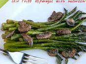 Stir Fried Asparagus With Mushroom Recipe