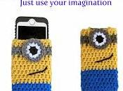 Free Crochet Pattern: Despicable Inspired Minion Cozy Case