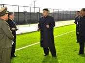Jong Visits Food Factory Construction Football Training Center