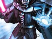 Star Wars Marvel Mashup Character Art: Meet Darth Doom, Iron Trooper