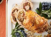 """Golden Glazed Turkey Breast with Fruit Stuffing"" –Perfect This Holiday Season"