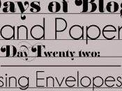 Days Blogging (D.I.Y. Paper Tips) Twenty-two: Addressing Envelopes