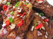 Chinese Spareribs with Shallots/ 紅葱烤排