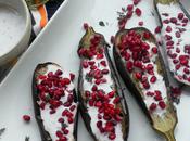 Yotam Ottolenghi's Eggplant with Buttermilk Sauce Pomegranate