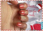 Christmas Cheer Glittery Nails Pictures