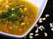Black Eyed Peas-Sweet Potato Soup
