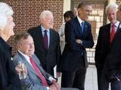 Barbara Bush Says Loves Bill Clinton