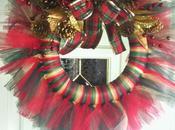 Winter Tulle Wreaths