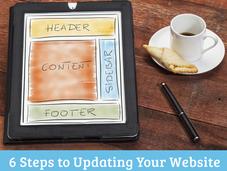 Steps Updating Your Website