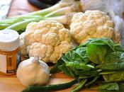 Stir-fried Cauliflower 'Rice' Sticky Sesame Chicken