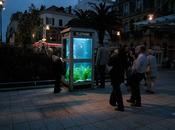 Forget TARDIS, These Phone Booth Fish Tanks Really Cool